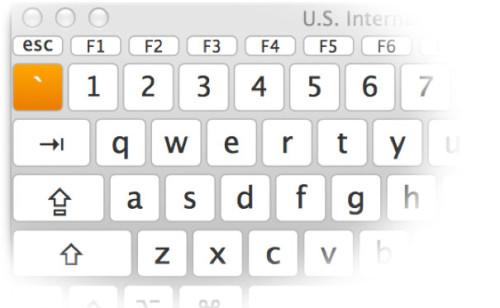 Acute key