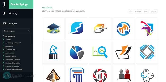GraphicSprings screenshot