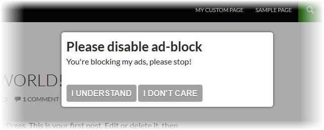 Anti block