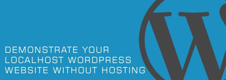 Demonstrate your Localhost WordPress Website with Ngrok