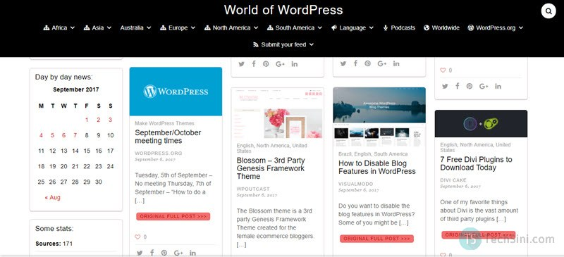 World of WordPress