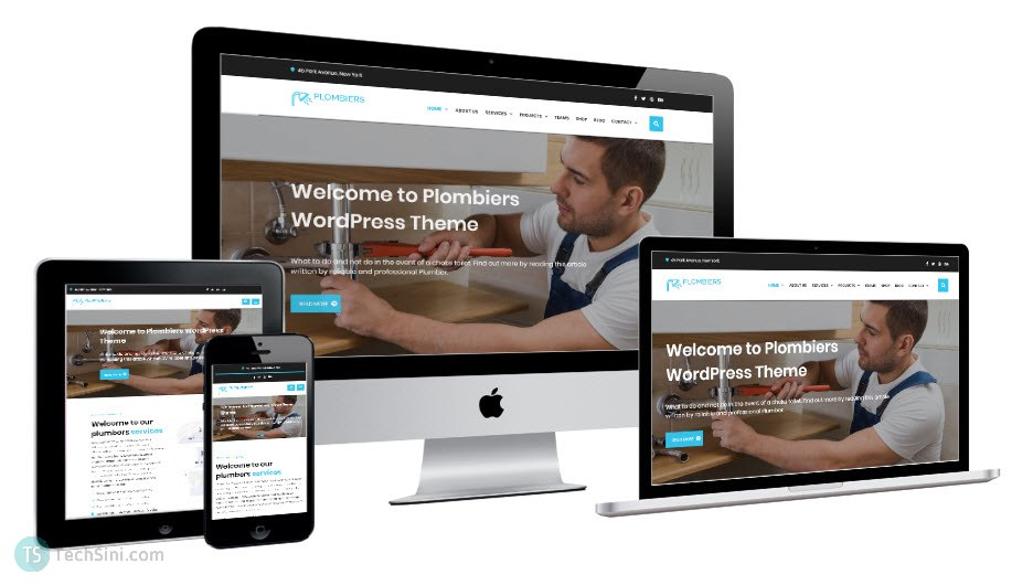 Plumber WordPress Theme