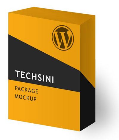 Free Package Mockup